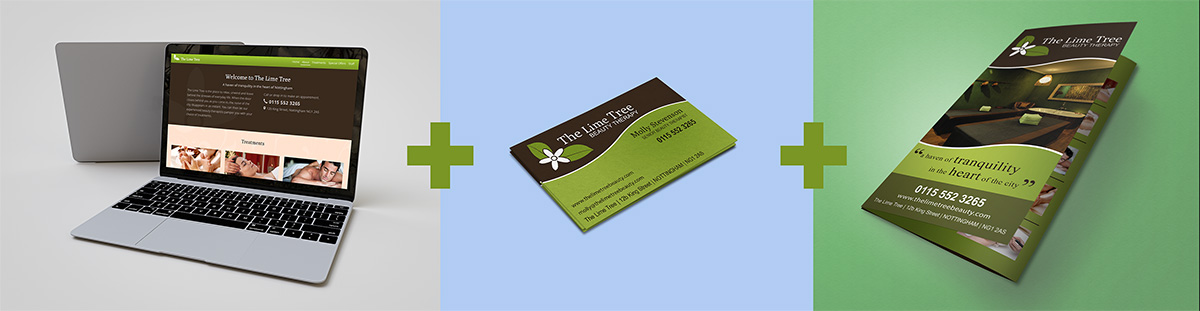 Business cards and brochure